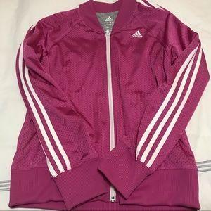Pink Adidas Track Jacket